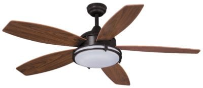 Tali Led 52 Quot Ceiling Fan Satin Nickel Vaxcel