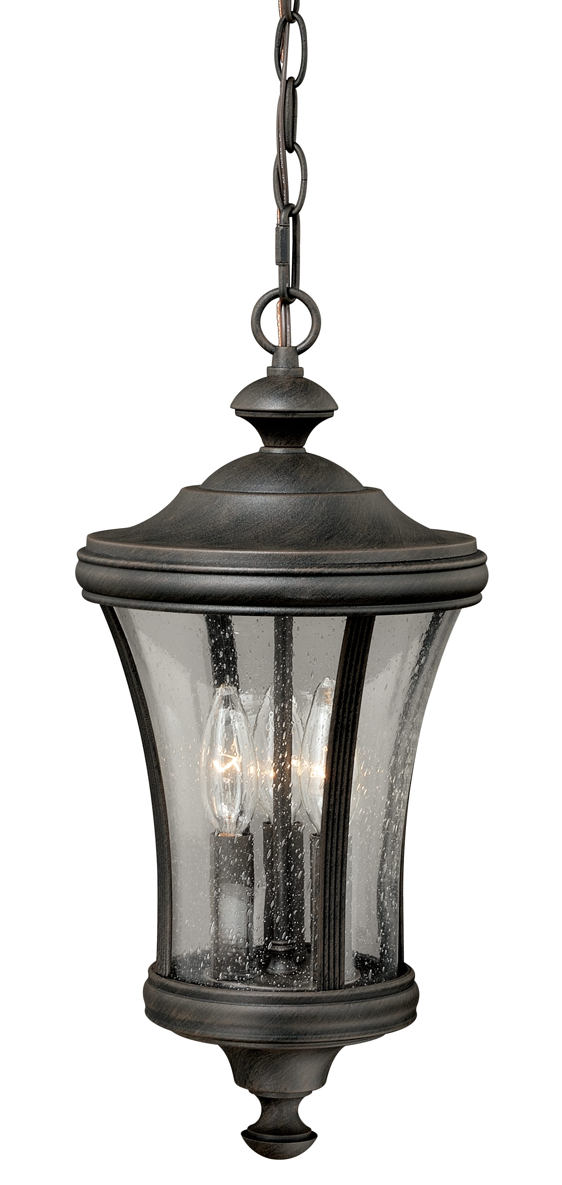 Hanover 9 Quot Pendant Brushed Iron Vaxcel