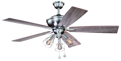 Home vaxcel clybourn 52 ceiling fan satin nickel aloadofball Images