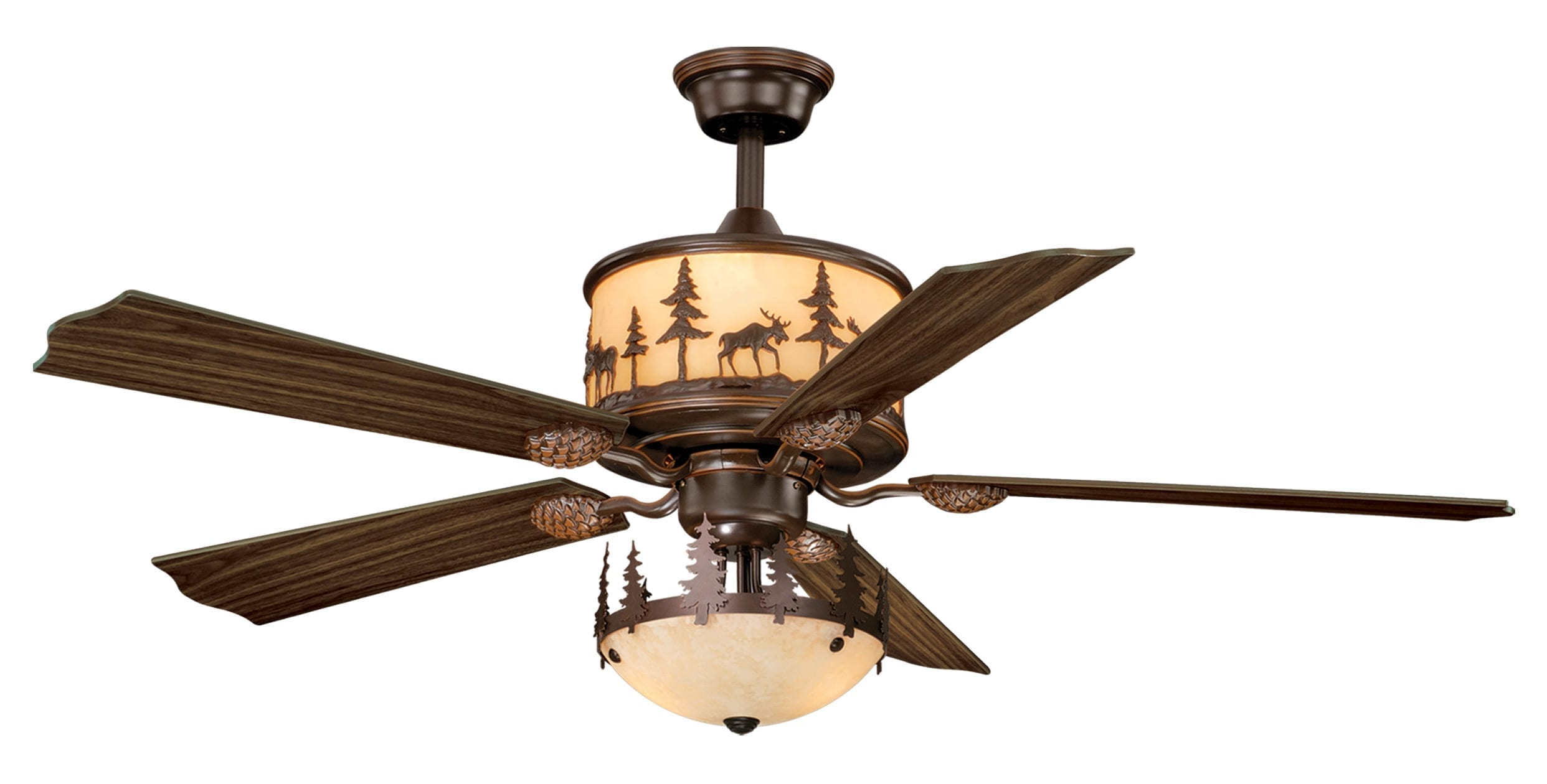 Yellowstone 56 Quot Ceiling Fan Burnished Bronze Vaxcel