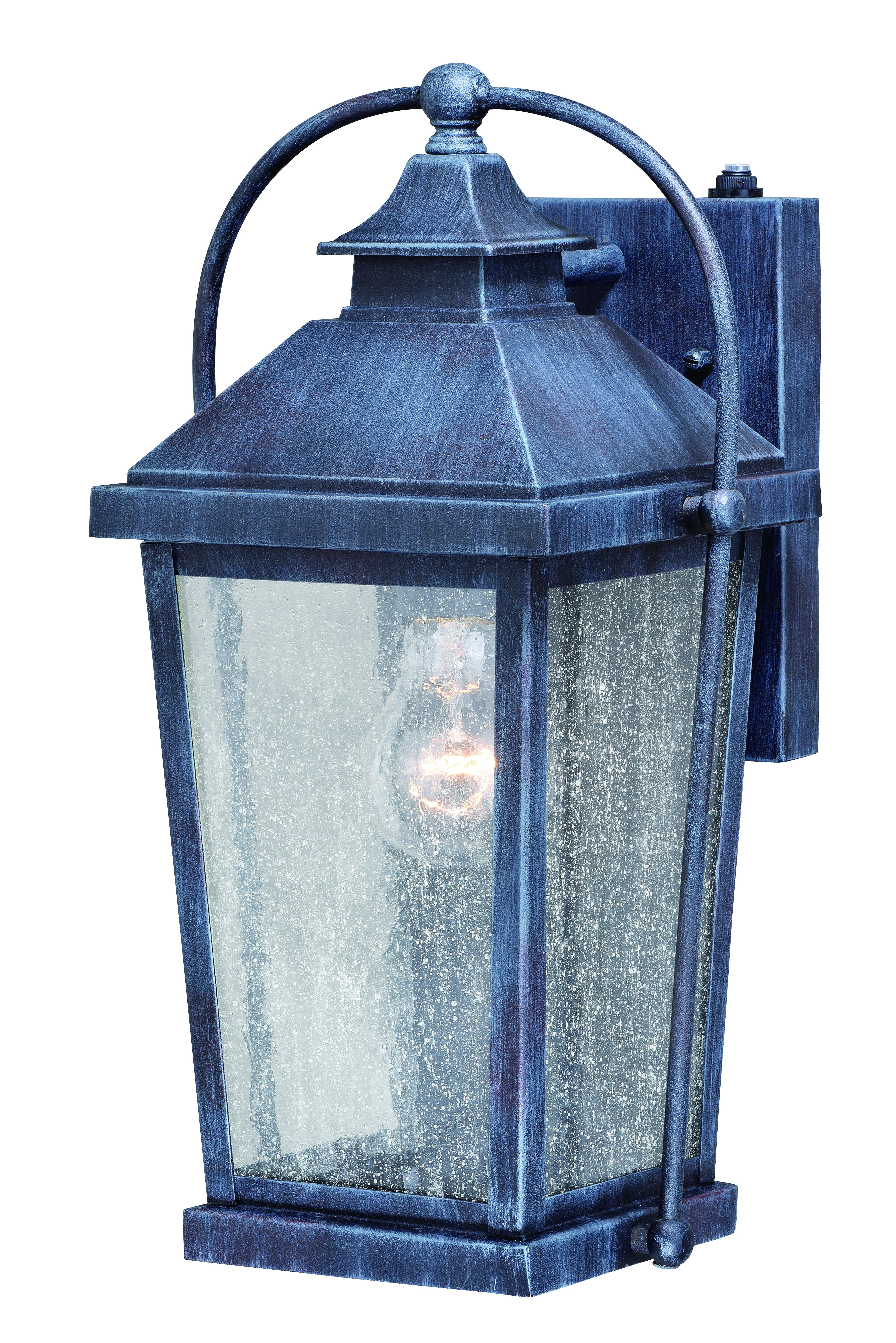 Lexington 8 Outdoor Wall Light Colonial Gray